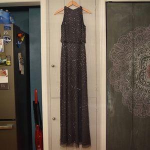 Gray BHLDN Bridesmaid Dress